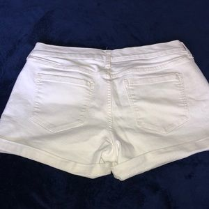 Old Navy Shorts - Old Navy Boyfriend White Jean Short - Size 8